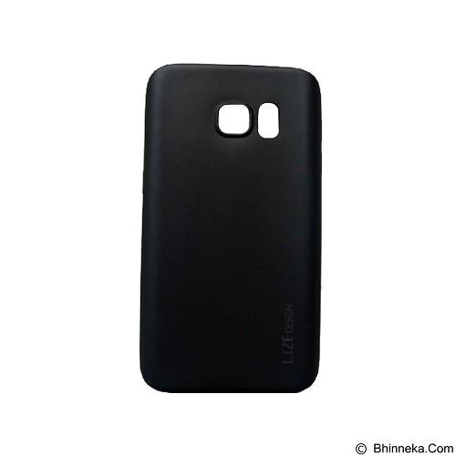 LIZE Softcase Samsung Galaxy S7 Edge - Black (Merchant) - Casing Handphone / Case