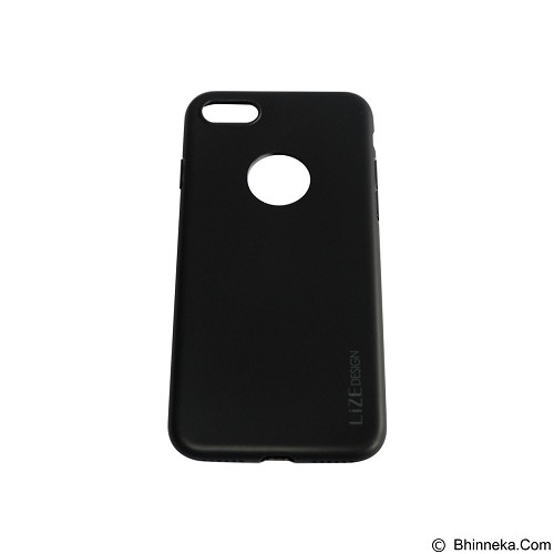 LIZE Softcase/Silicone Casing for iPhone 7G - Black (Merchant) - Casing Handphone / Case