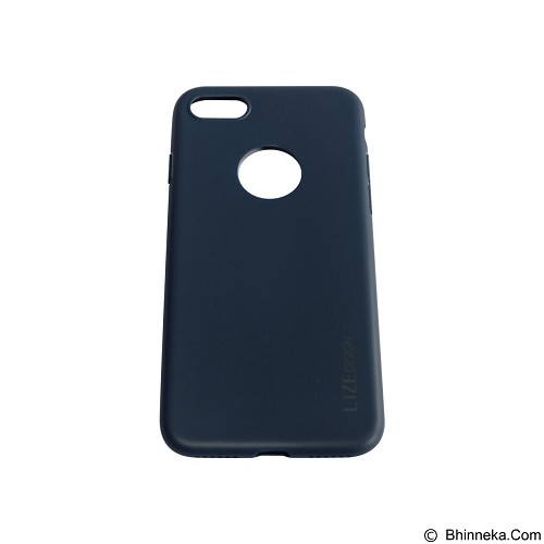 LIZE Softcase/Silicone Casing for iPhone 7G - Dark Blue (Merchant) - Casing Handphone / Case