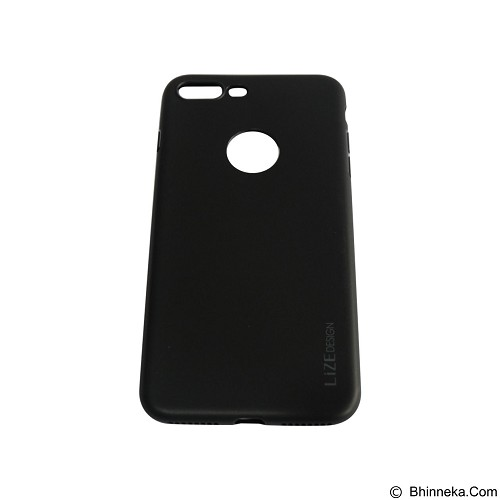 LIZE Softcase/Silicone Casing for iPhone 7G Plus - Black (Merchant) - Casing Handphone / Case