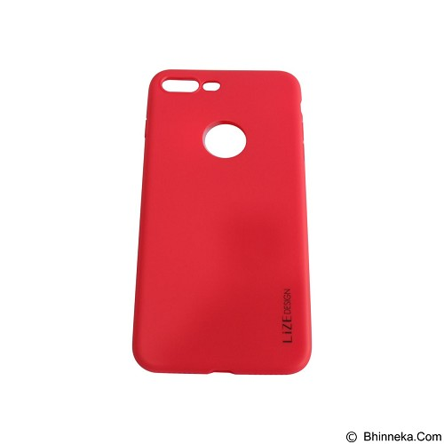 LIZE Softcase/Silicone Casing for iPhone 7G Plus - Red (Merchant) - Casing Handphone / Case