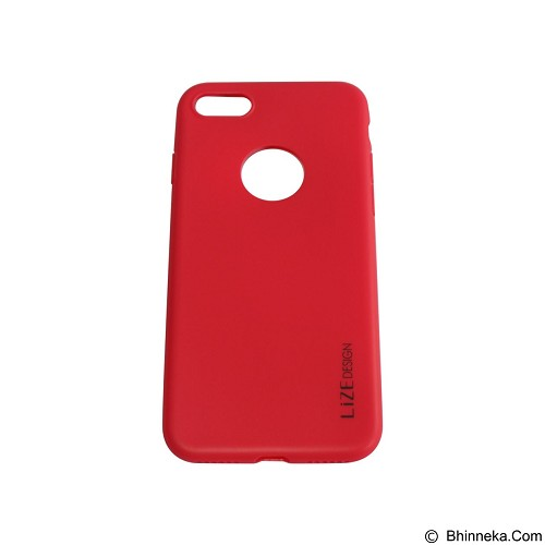 LIZE Softcase/Silicone Casing for iPhone 7G - Red (Merchant) - Casing Handphone / Case