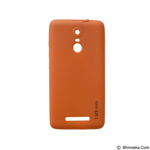 LIZE Softcase Xiaomi Redmi Note 3 - Brown (Merchant) - Casing Handphone / Case