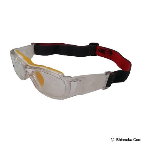 LMD Frame Kacamata Futsal [NC137rx] - Clear Yellow - Kacamata Olahraga