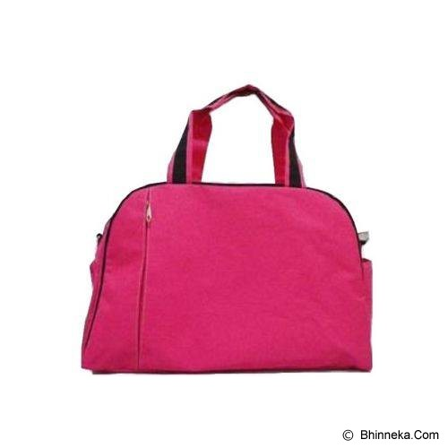 LN SHOP Sport Bag - Dark Pink - Travel Bag