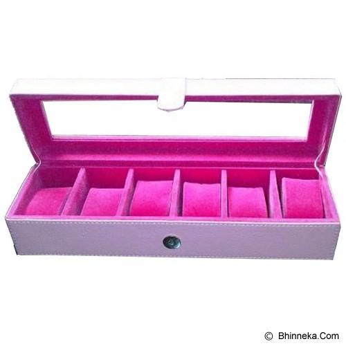 LN SHOP Watch Organizer - Pink - Jewelry Organizer