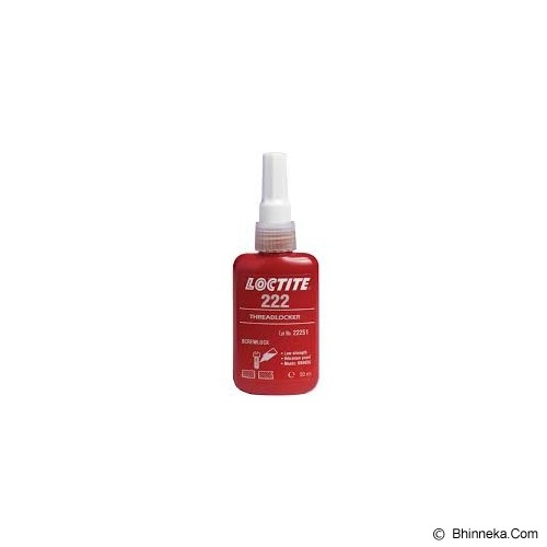 LOCTITE 222 Low STR Threadlocker 50 ML - Cairan Pelumas Serbaguna