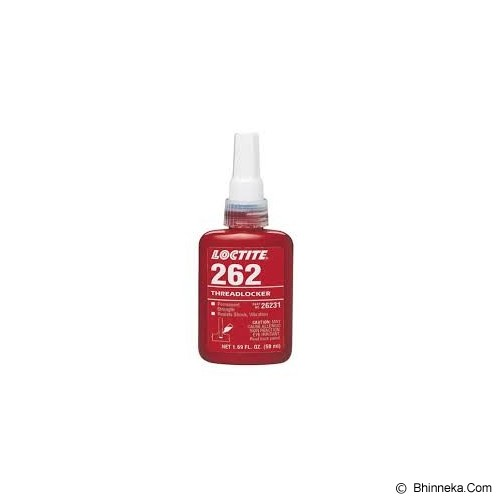 LOCTITE 262 Permanent Threadlocker 50 ML - Cairan Pelumas Serbaguna