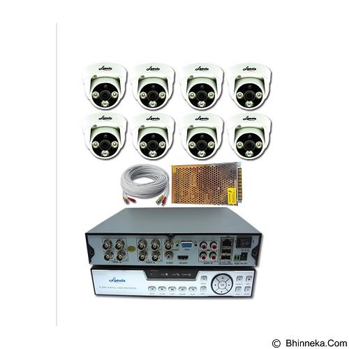 LOEWIX Paket 8 Kamera AHD CCTV 1.3 MP - Cctv Camera