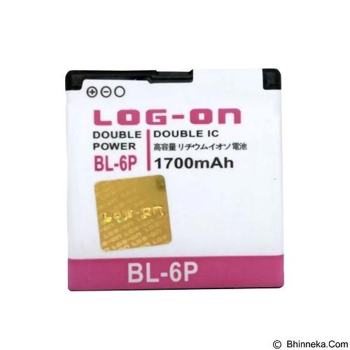 LOG ON BL-6P For Nokia 6500 Battery [LOGBATTNOK-BL6P] - Handphone Battery