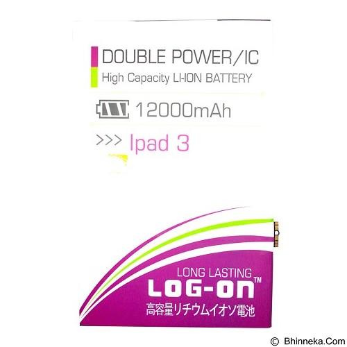 LOG ON Apple iPad 3 Battery [LOGBATTAPP-IPAD3] - Handphone Battery