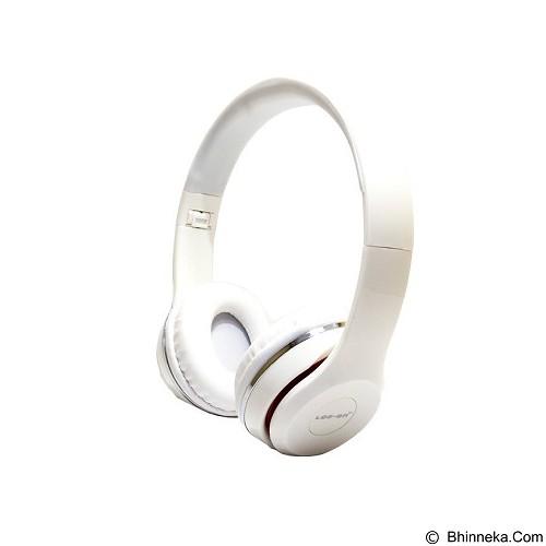 LOG ON Headphone [LO-NB-B80] - White (Merchant) - Headphone Portable