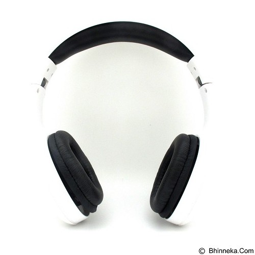 LOG ON InTone Stereo Headphones Headset With Microphone [LO-NB-680] - White (Merchant) - Headphone Portable