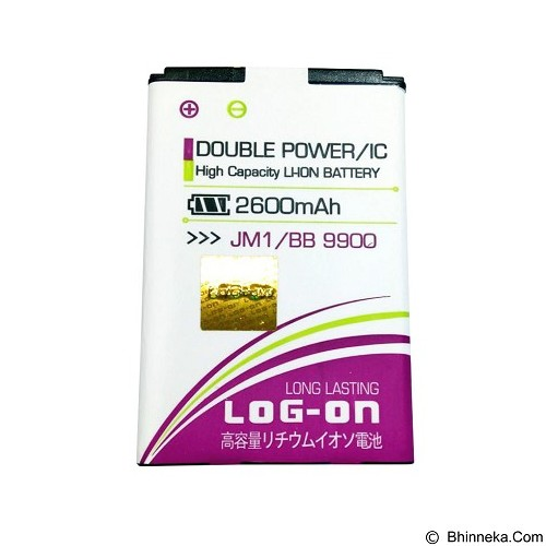 LOG ON JM1 For Blackberry Dakota 9900 Battery [LOGBATTBB-9900-JM1] - Handphone Battery