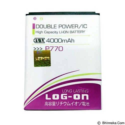 LOG ON Lenovo P770 Battery  [LOGBATTLEN-P770] - Handphone Battery