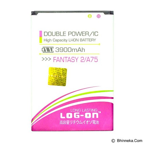 LOG ON MITO Fantasy 2 A75 Battery [LOGBATTMITO-A75] - Handphone Battery