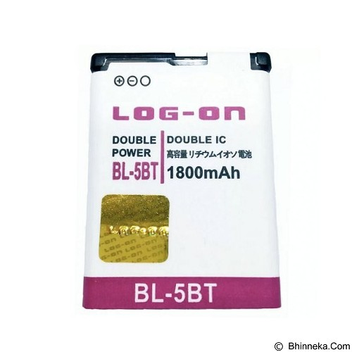LOG ON Nokia BL-5BT Battery [LOGBATTNOK-BL5BT] - Handphone Battery