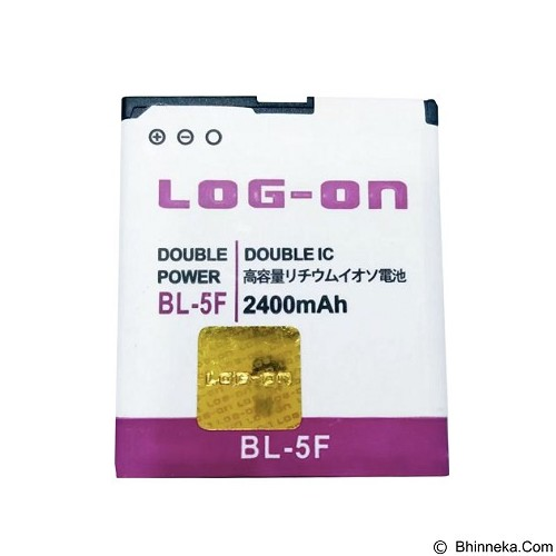 LOG ON Nokia BL-5F Battery [LOGBATTNOK-BL5F] - Handphone Battery