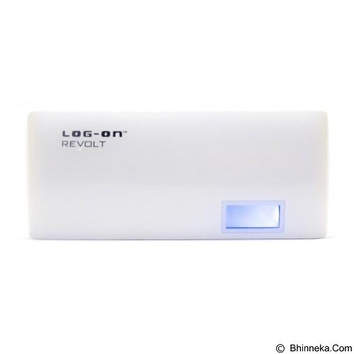 LOG ON Powerbank Revolt Power 15000mAh [525L] - White - Portable Charger / Power Bank