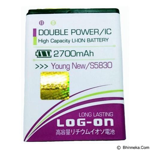 LOG ON Samsung Young New/S5830 Battery [LOGBATTSAM-YOUNG-S5830] - Handphone Battery