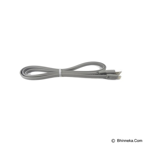 LOG ON Speed Data Cable Solid for iPhone 5/6 & iPad [L22] - Grey (Merchant) - Cable / Connector Usb