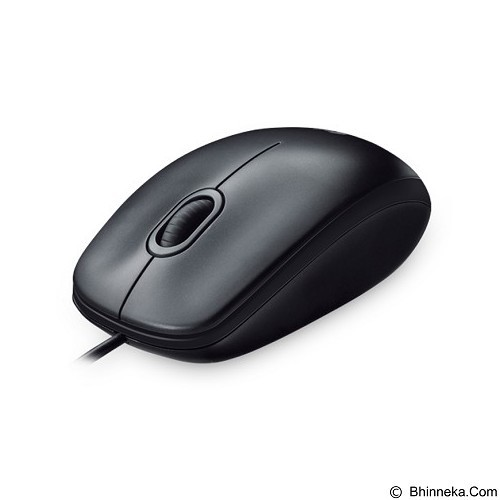 LOGITECH Optical Mouse M100 [910-001295] - Black (Merchant) - Mouse Basic