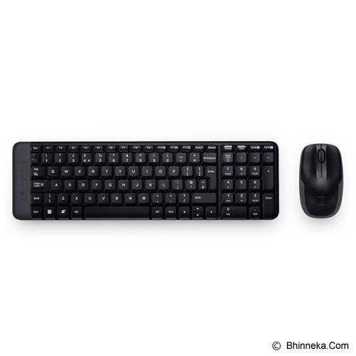 LOGITECH Wireless Combo MK220 [920-003235] (Merchant) - Keyboard Mouse Combo
