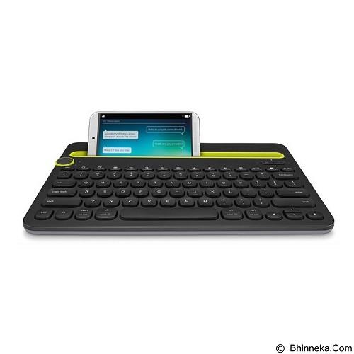 LOGITECH Bluetooth Multi-Device Keyboard K480 [920-006342] - Black - Keyboard Basic
