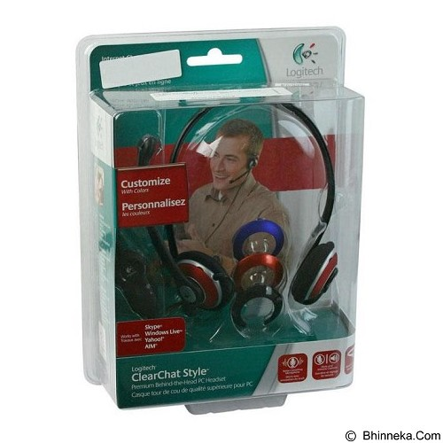 LOGITECH ClearChat Style [981-000019] - Headset Pc / Voip / Live Chat