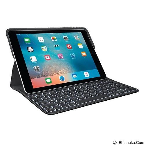 LOGITECH Create Backlit Keyboard Case for iPad Pro 9.7 Inch [920-008101] - Black - Gadget Keyboard