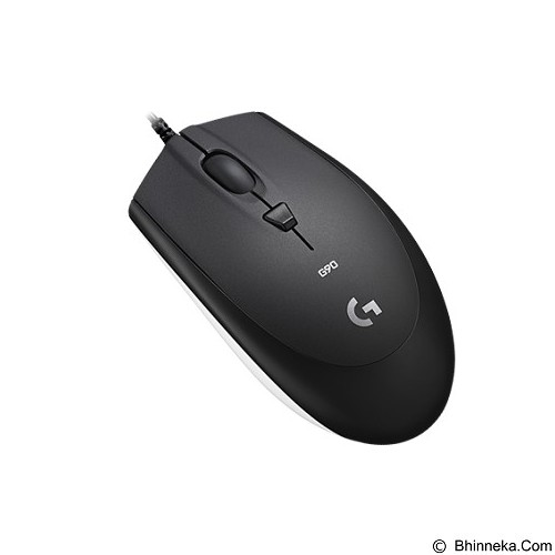 LOGITECH G90 Optical Gaming Mouse [910-005018] - Black - Gaming Mouse