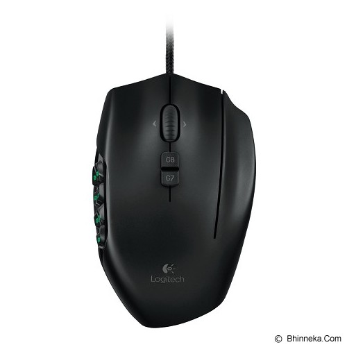 LOGITECH Gaming Mouse G600 [910-002867] - Black - Gaming Mouse