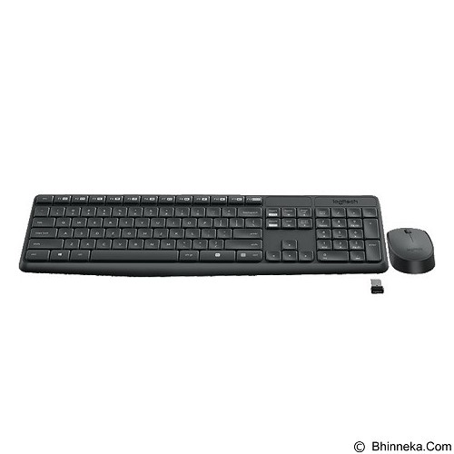 LOGITECH Wireless Combo MK235 [920-007937] - Keyboard Mouse Combo