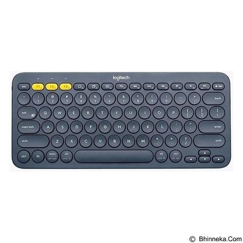 LOGITECH Multi Device Bluetooth Keyboard K380 [920-007596] - Black - Keyboard Basic