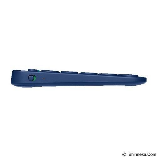 LOGITECH Multi Device Bluetooth Keyboard [K380] - Blue (Merchant) - Gadget Keyboard