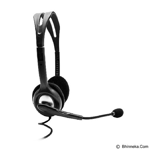 LOGITECH Stereo Headset [H110] - Black (Merchant) - Headset Pc / Voip / Live Chat