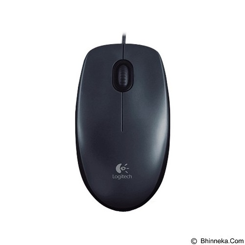 LOGITECH Wired Optical Mouse M100r [910-003301] - Black (Merchant) - Mouse Basic