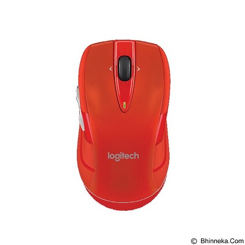 LOGITECH Wireless Mouse M545 [910-004100] - Red - Mouse Desktop