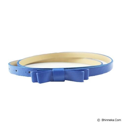 LOLLY STORE Rainbow Colour Belt - Blue - Ikat Pinggang Wanita