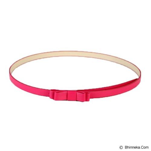 LOLLY STORE Rainbow Colour Belt - Dark Pink - Ikat Pinggang Wanita