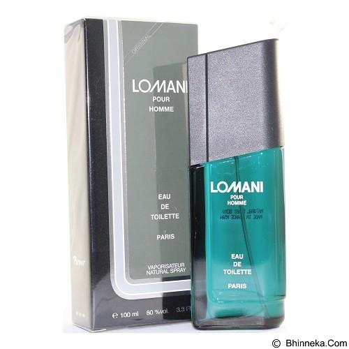 LOMANI Pourhomme For Men - Eau De Toilette untuk Pria