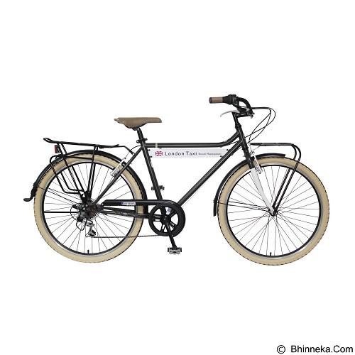 LONDON TAXI CRB M 26 Inch - Black (merchant) - Sepeda Kota / City Bike