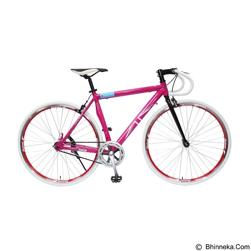 LONDON TAXI Roadbike 700A - Pink - Sepeda Balap / Racing Bike
