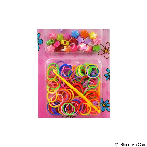 LOOM BANDS Rainbow Loom Mini Kit Motif Bunga (Merchant) - Beauty and Fashion Toys