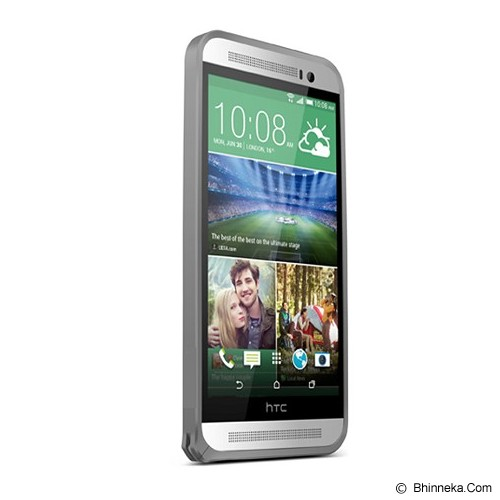 LOVE MEI Bumper HTC One E8 - Grey - Casing Handphone / Case