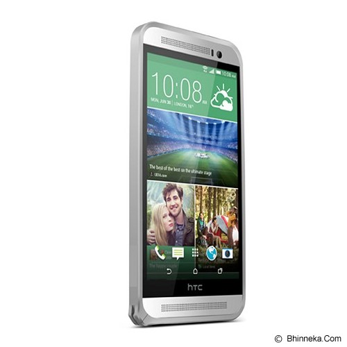 LOVE MEI Bumper HTC One E8 - Silver - Casing Handphone / Case