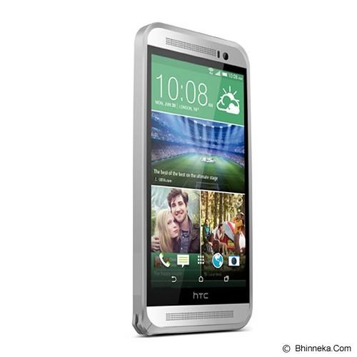 LOVE MEI Bumper HTC One E8 - Silver - Casing Handphone / Case