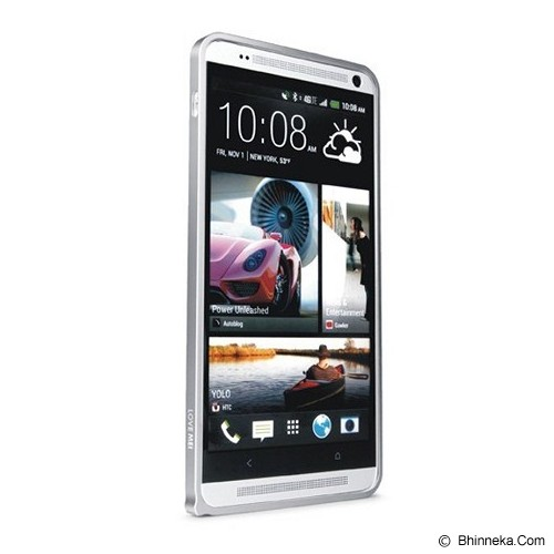 LOVE MEI Bumper HTC One Max - Silver - Casing Handphone / Case