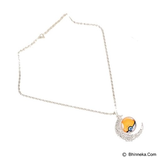 LOVELYNA STORE Pokemon GO Moon Shape Pendant Necklace [LSP102376A] - Yellow (Merchant) - Kalung / Necklace