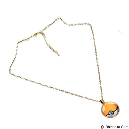 LOVELYNA STORE Pokemon GO Moon Shape Pendant Necklace [LSP1023772] - Gold (Merchant) - Kalung / Necklace